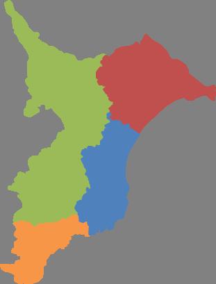 千葉県地図