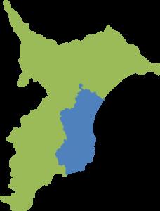 千葉県東上総地域